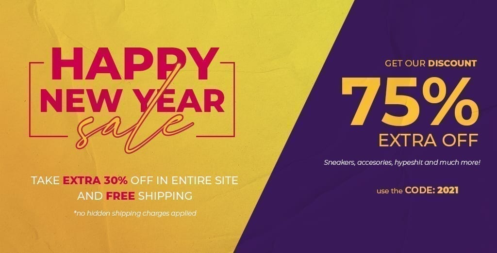 New Year Sneakers Sale